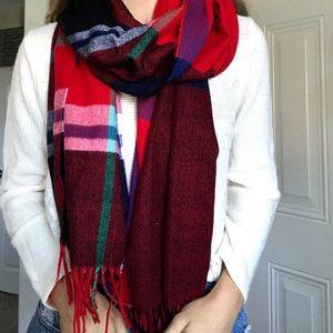 NWT J. CREW plaid blanket scarf 🧣🍂